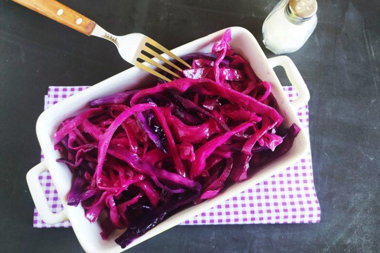 Insalata di Cavolo Viola (ricetta semplice)