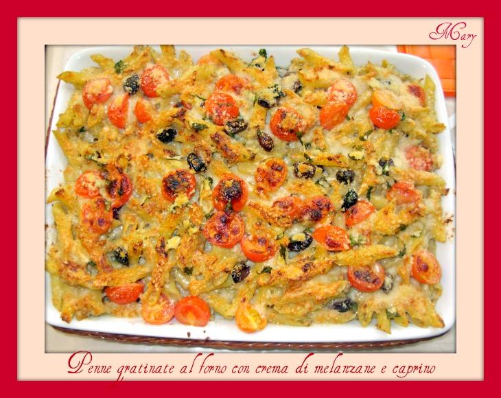 penne-gratinate-al-forno-con-crema-di-melanzane-e-caprino