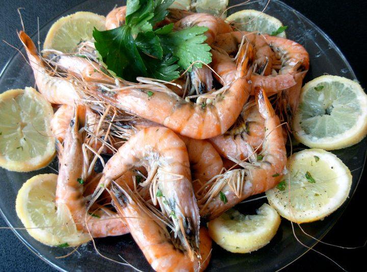 GAMBERONI AL FORNO, ricetta di pesce