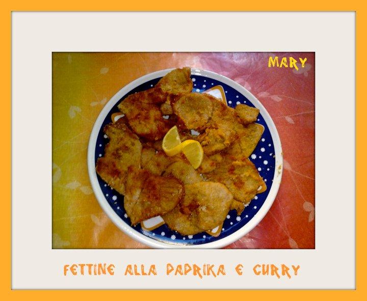 fettine alla paprika e curry