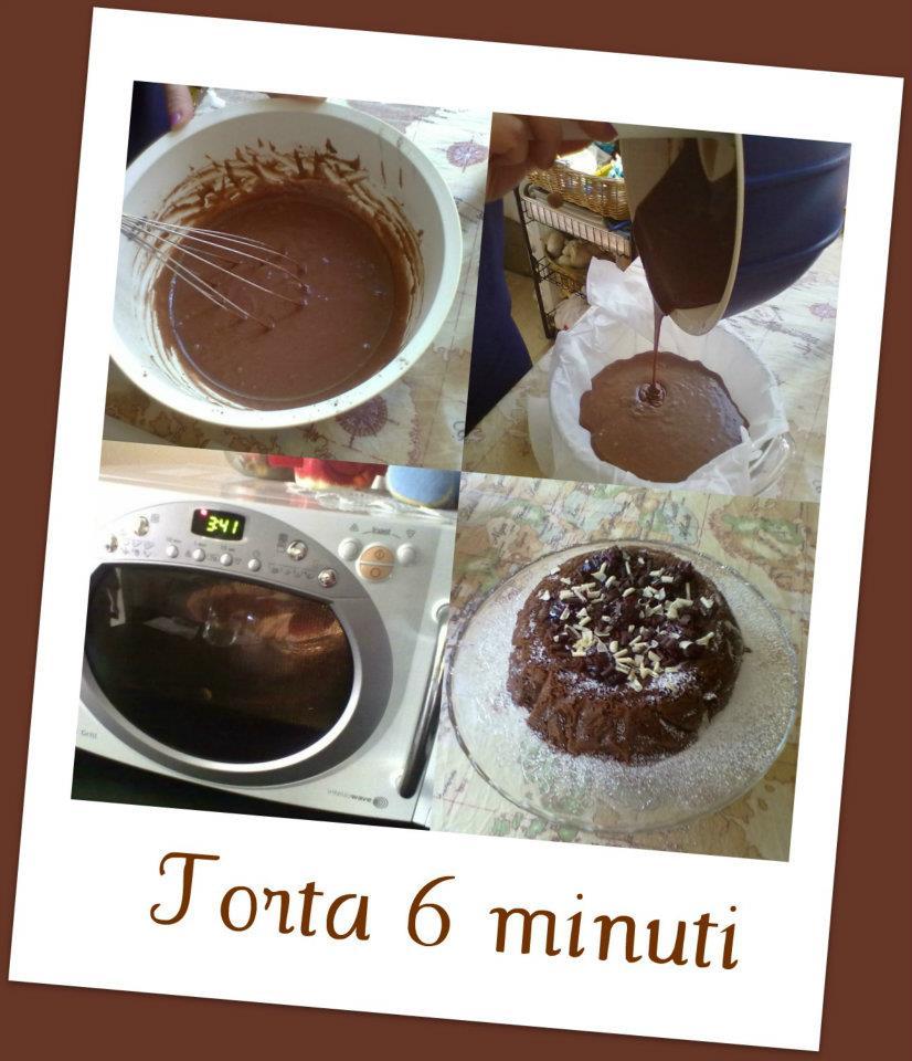 torta 6 minuti