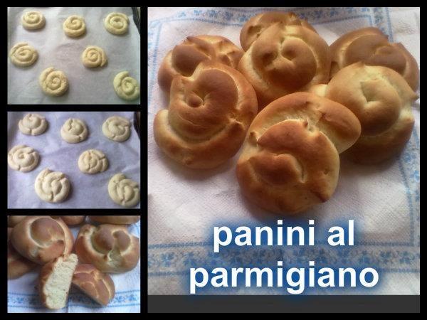 Panini al parmigiano