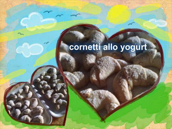 cornetti allo yogurt senza uova