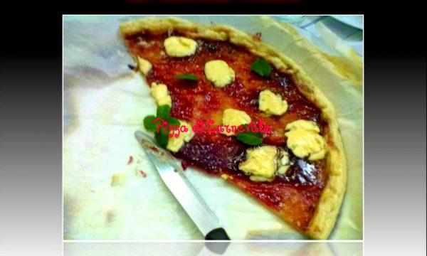 PIZZA DI CARNEVALE, ricetta dolce