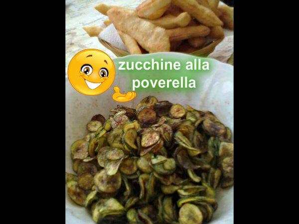 Zucchine alla poverella, ricetta di verdure