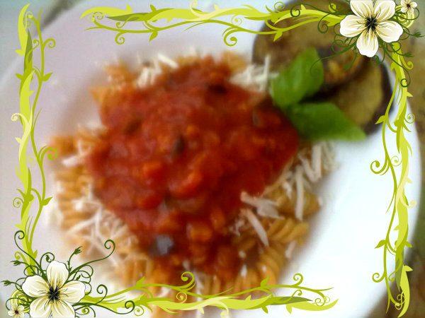 PASTA ALLA NORMA, ricetta di verdure