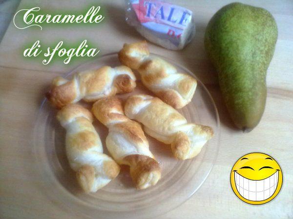 CARAMELLE DI SFOGLIA, ricetta finger-food