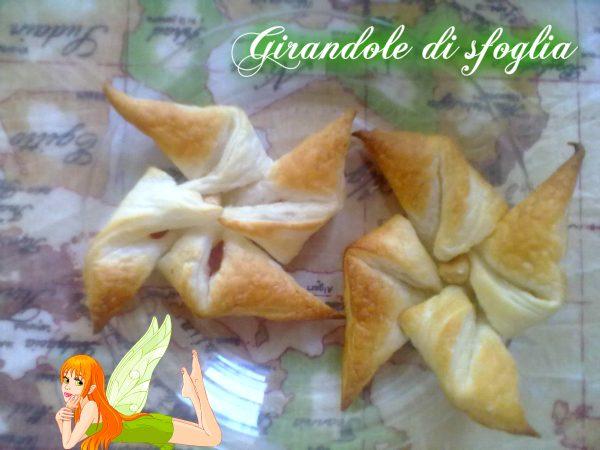 GIRANDOLE DI SFOGLIA, ricetta finger-food