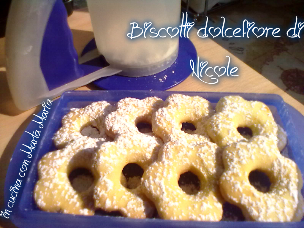 biscotti dolcefiore di Nicole
