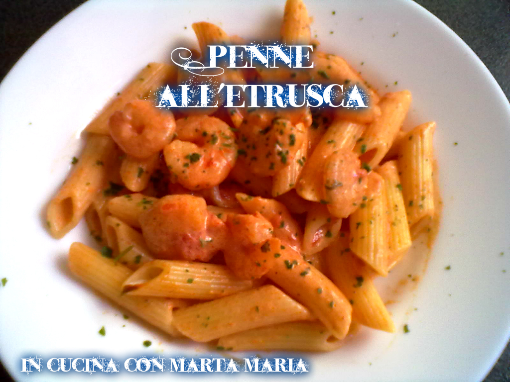 penne all'etrusca