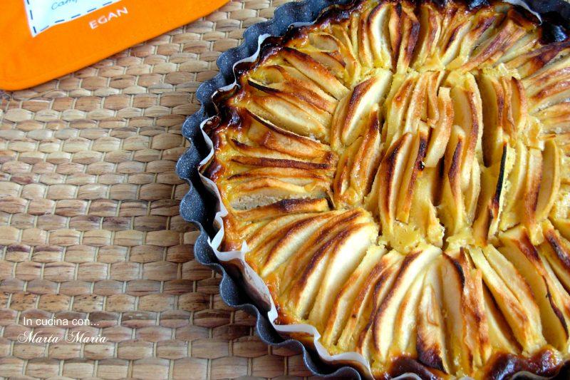 Torta di mele con philadelphia, ricetta facile