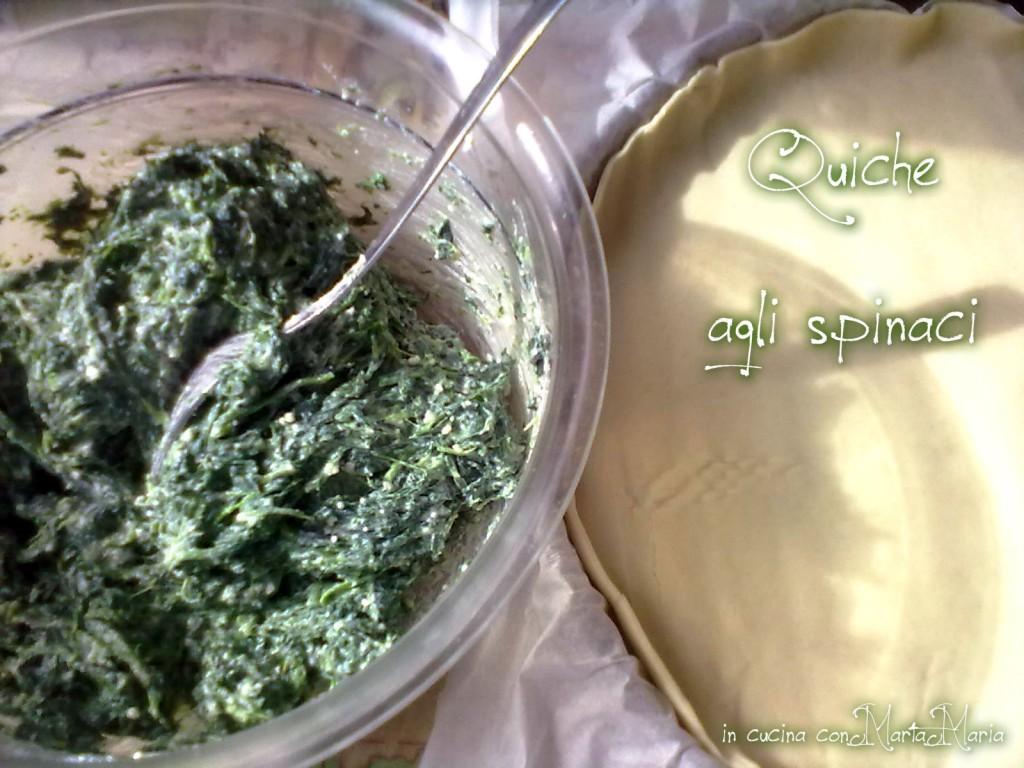 quiche agli spinaci