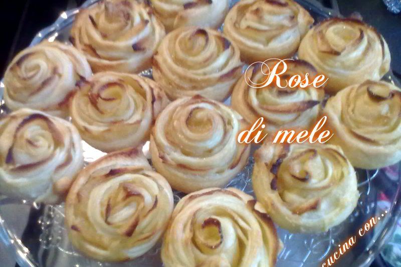 ROSE DI MELE, ricetta facile