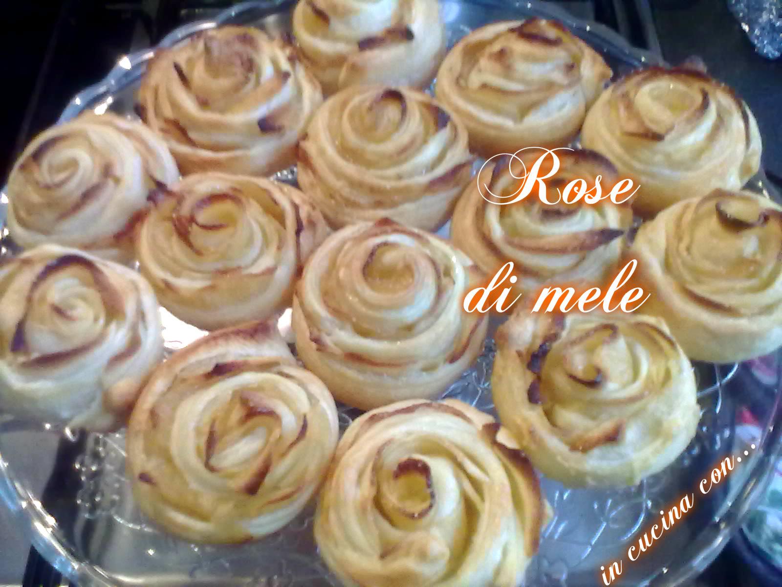 ROSE DI MELE, ricetta facile | In Cucina con ...