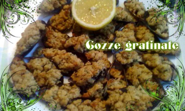 COZZE GRATINATE, ricetta facile