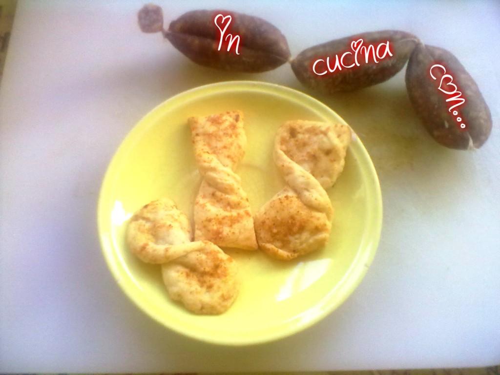 fiocchi di sfoglia alla paprika