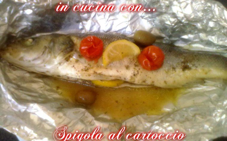 SPIGOLA AL CARTOCCIO, ricetta di mare
