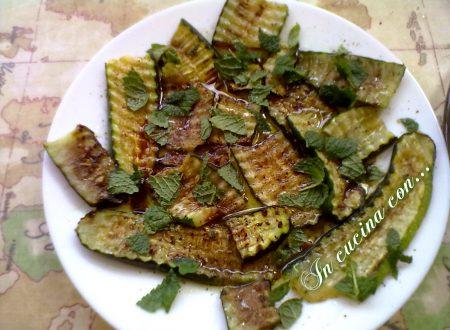 Zucchine grigliate, ricetta facile