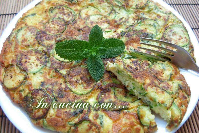 Frittata di zucchine, ricetta facile