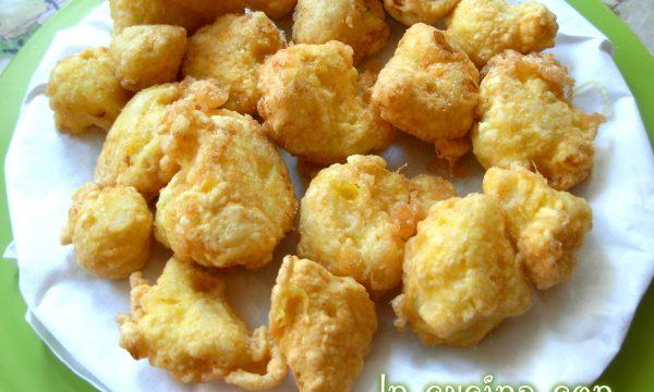 Cavolfiori fritti, ricetta verdure