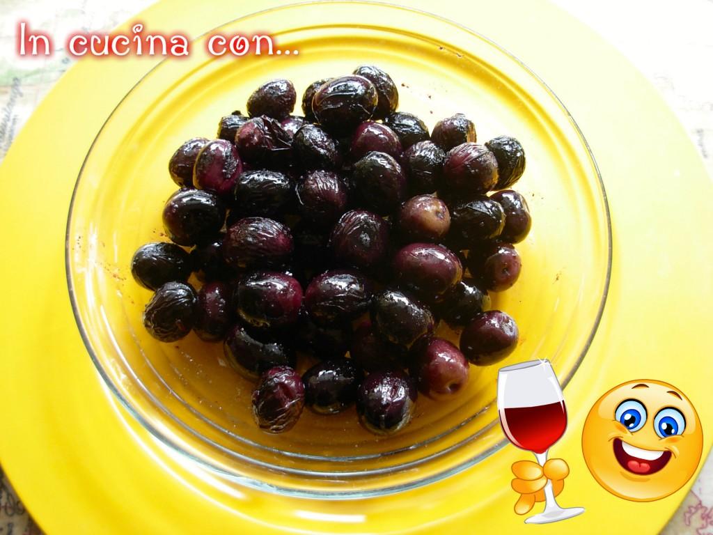 olive nere dolci fritte