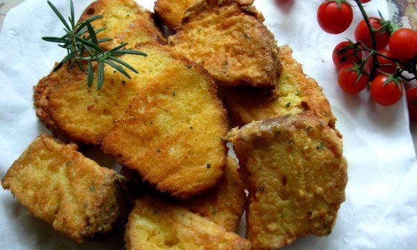 Pane fritto, ricetta riciclo