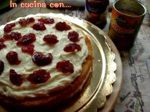 torta con fragole