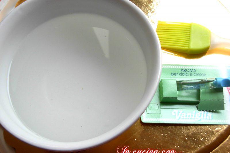 Bagna alla vaniglia analcolica, ricetta veloce