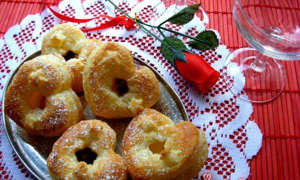 CUORI DOLCI DI SFOGLIA, ricetta San Valentino