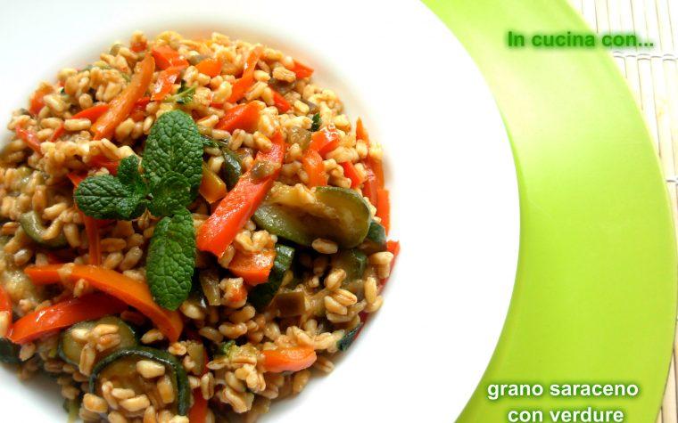 Grano con verdure, ricetta facile