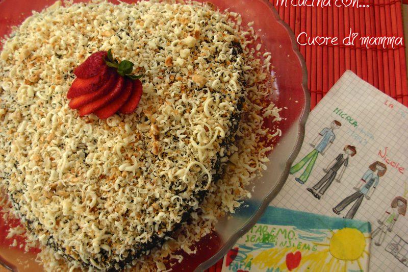 CUORE DI MAMMA, ricetta dolci