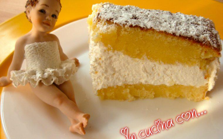 TORTA PARADISO, ricetta dolci facile