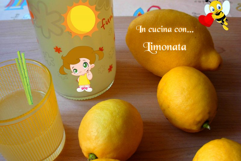 LIMONATA, ricetta Bimby