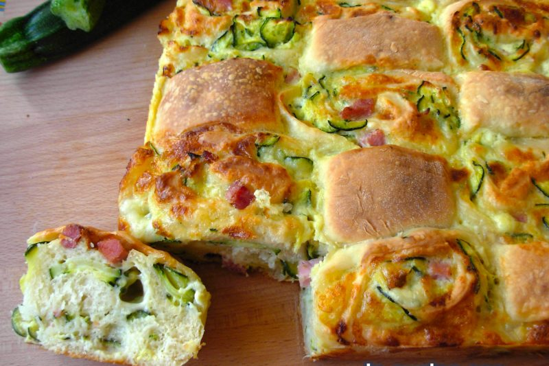 Pan brioche a scacchi, ricetta torte salate