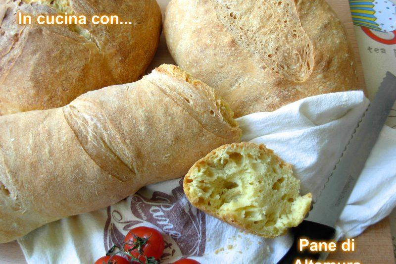 PANE DI ALTAMURA, ricetta pane