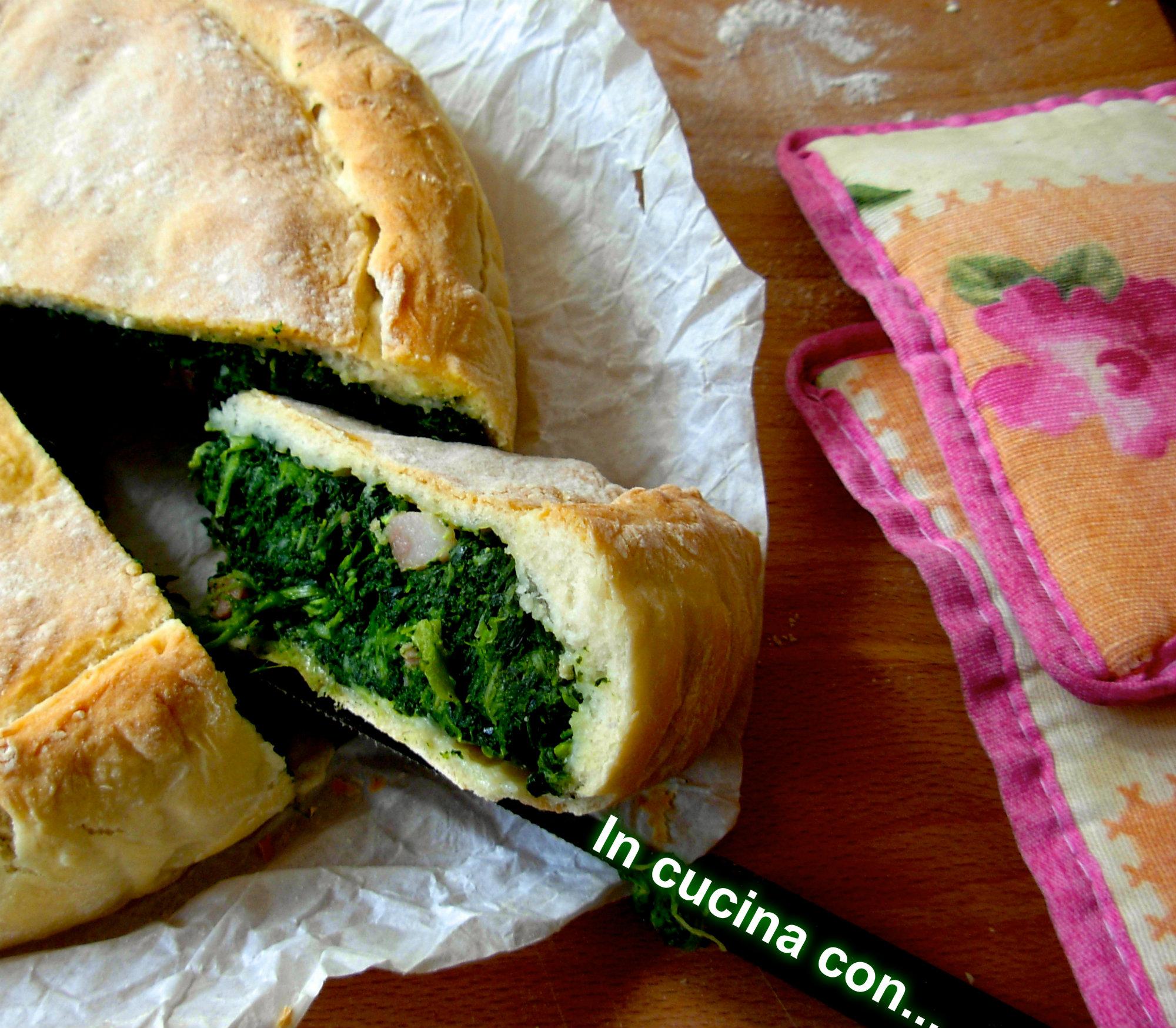 torta rustica di erbette, ricetta forno - in cucina con ... marta ... - Cucinare Erbette