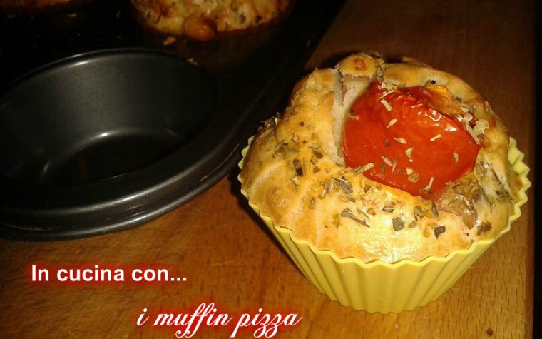 Muffin pizza, ricetta facile