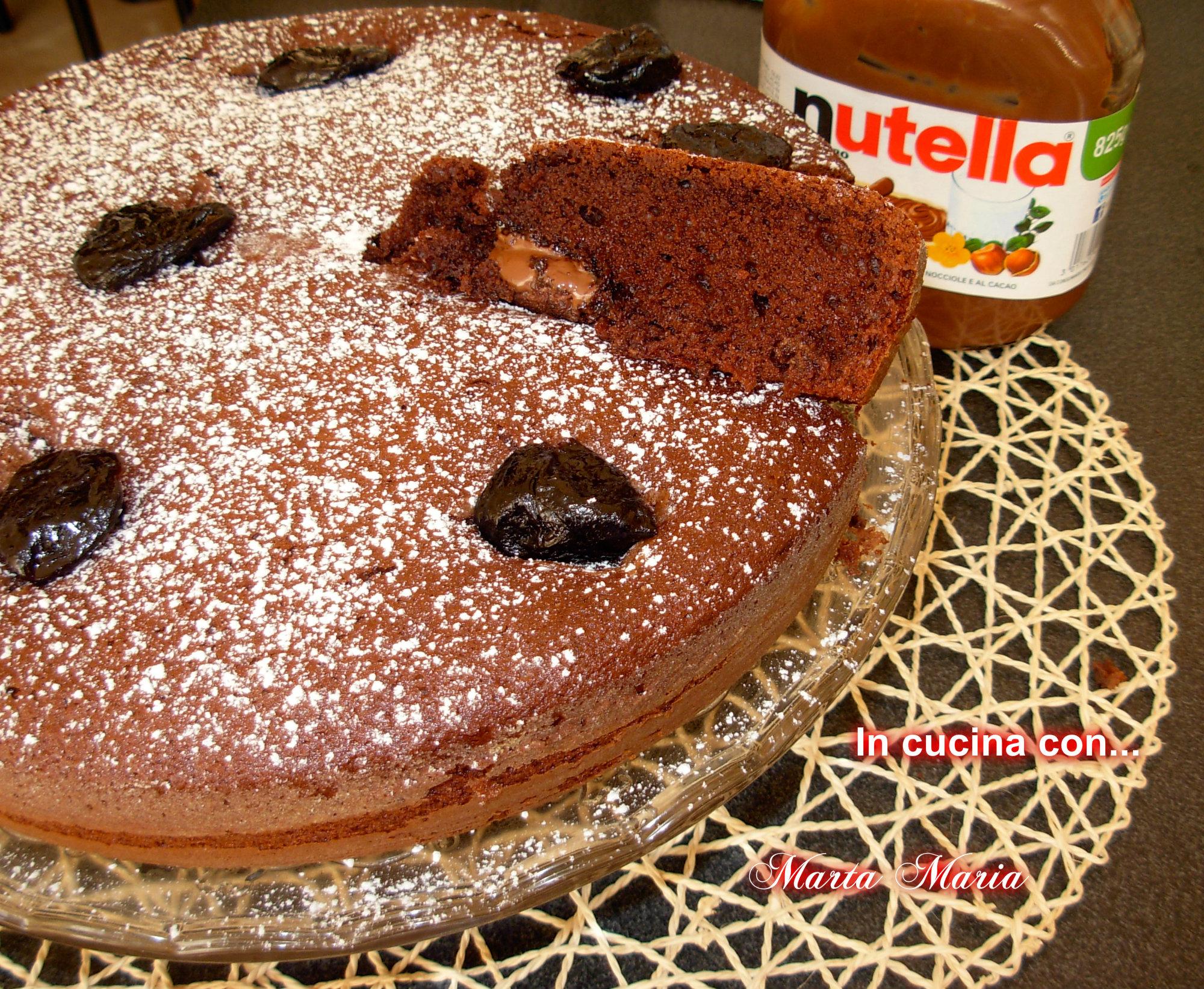 Ricetta Torta Estasi Alla Nutella.Torta Estasi Alla Nutella Ricetta Bimby In Cucina Con Marta Maria