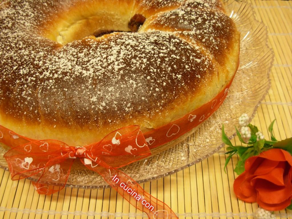 ciambella di pan brioche