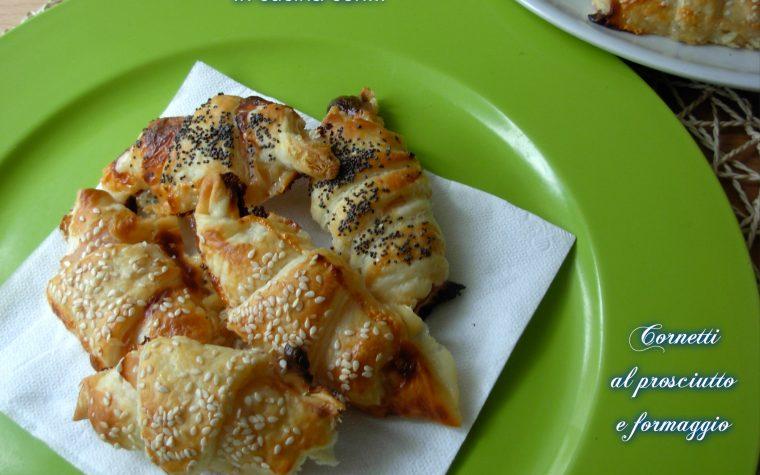 Cornetti al prosciutto e formaggio