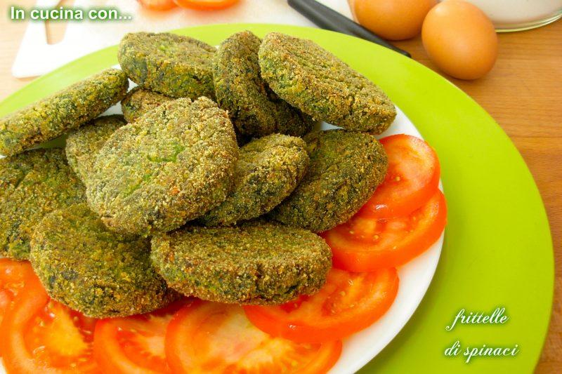 Frittelle di spinaci, ricetta facile