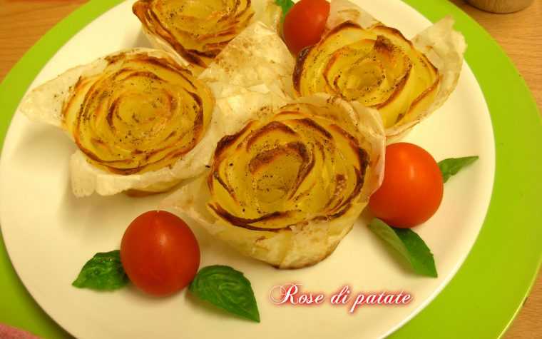 Rose di patate, ricetta passo-passo