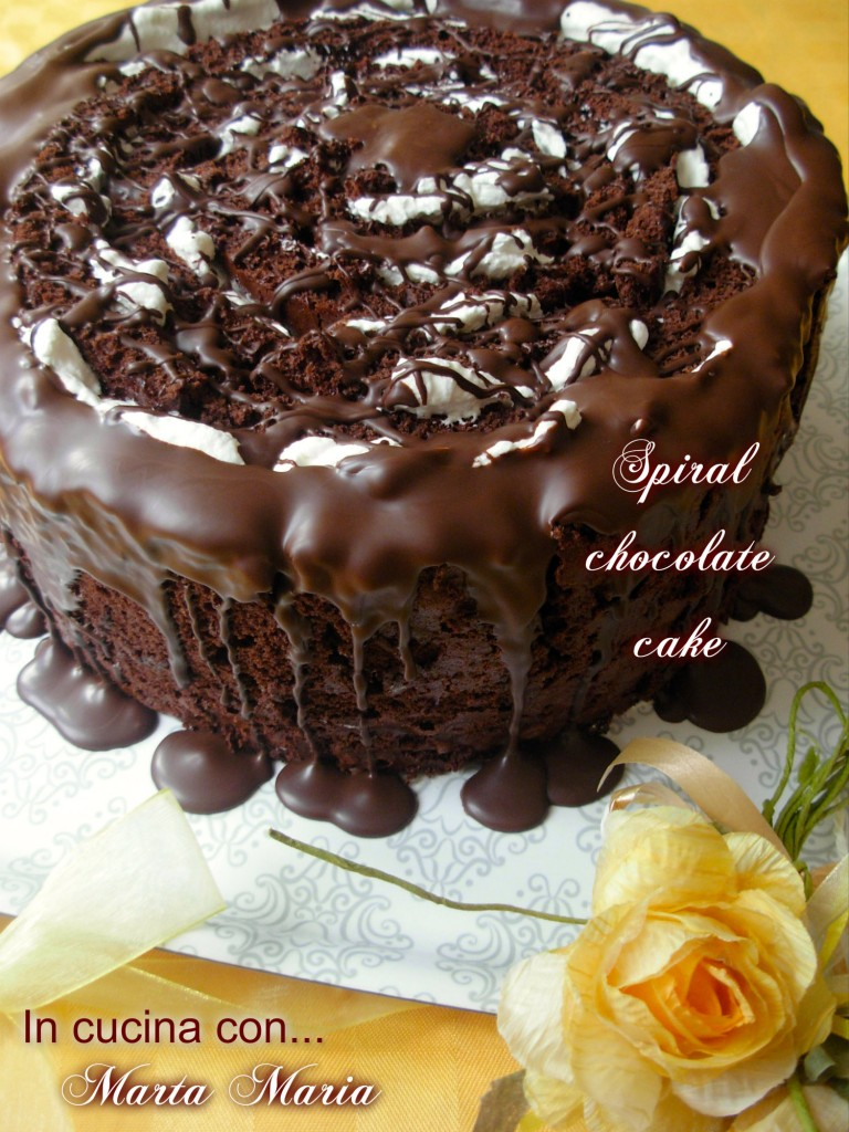 spiral chocolate