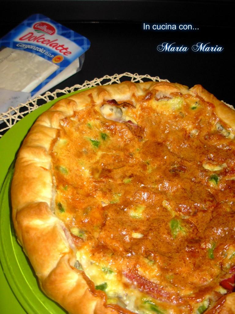 gorgonzola e asparagi