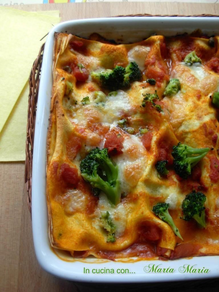 lasagne piccanti coi broccoli