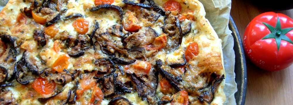 TORTA CON MELANZANE, ricetta facile