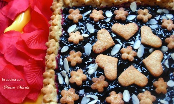 Crostata ai mirtilli, ricetta facile