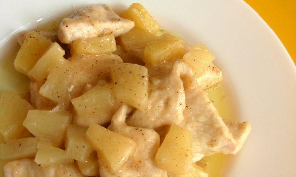 Pollo all'ananas, ricetta facile