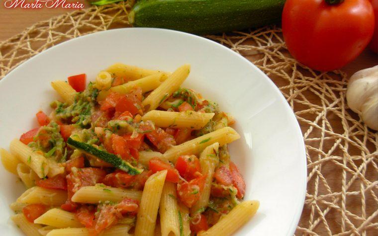 Penne con le zucchine, ricetta facile