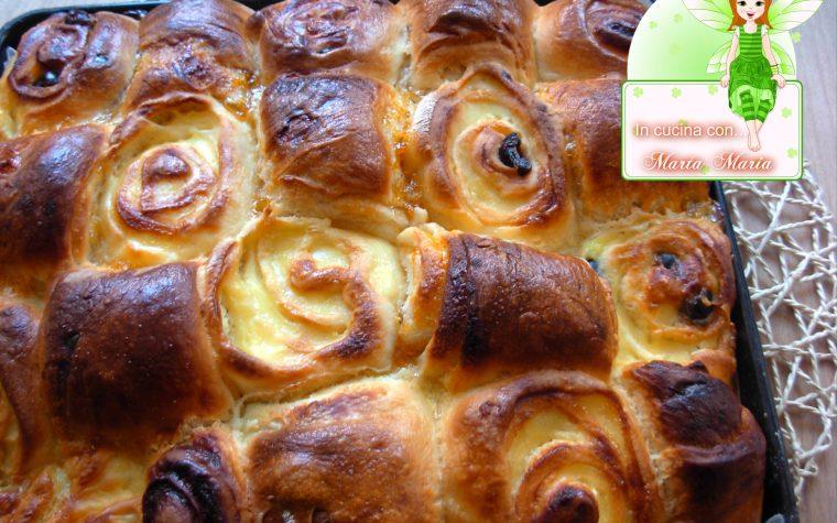 Pan brioche a scacchi dolce, ricetta Bimby
